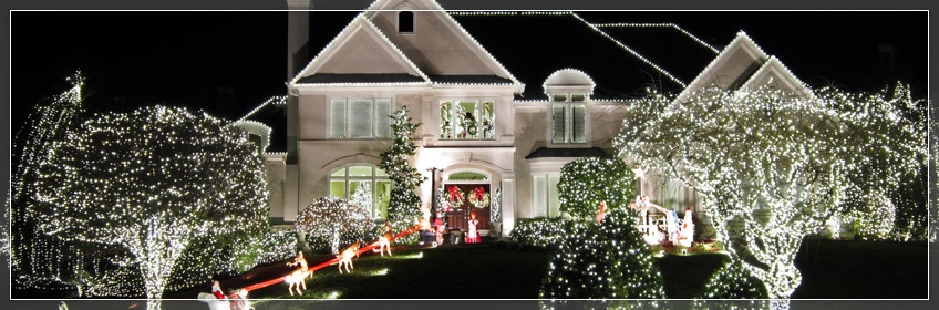 Outdoor christmas decorations - Christmas decorating exterior house ...