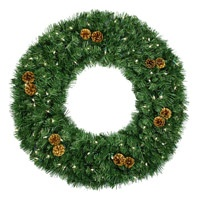 large christmas wreaths 60 inch and larger - Large Christmas Wreath
