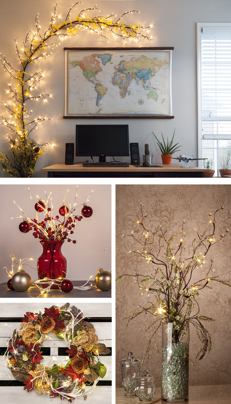 Lighted Branches The Diy Decorator S Dream