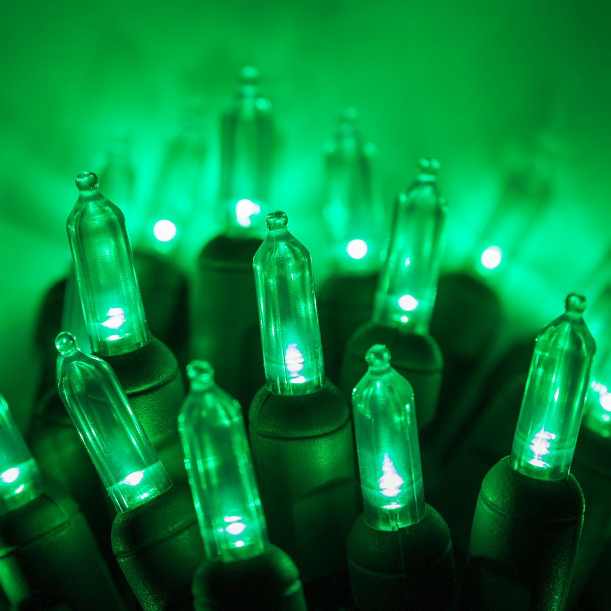 Green Led Christmas Lights