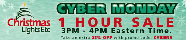 Cyber Monday Sale take an additional 25% Off with promo code: CYBER9