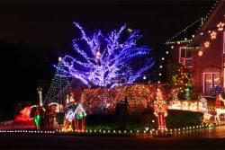 Extreme Christmas Lights House