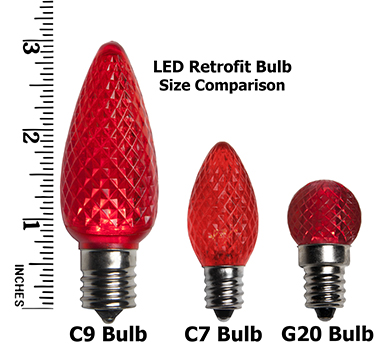 LED Light Size Comparison