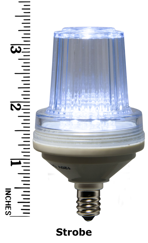 Cool White Strobe Bulb Measurement