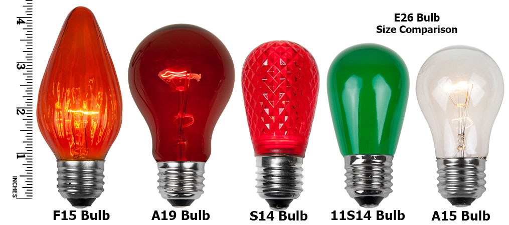 E26 Party And Sign Bulbs