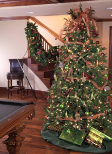 Christmas Tree in Man Cave