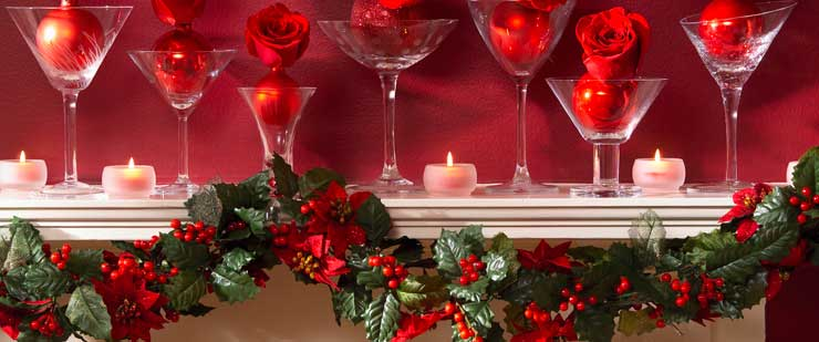 Christmas decorating ideas best home decoration world class for Inside xmas decorations