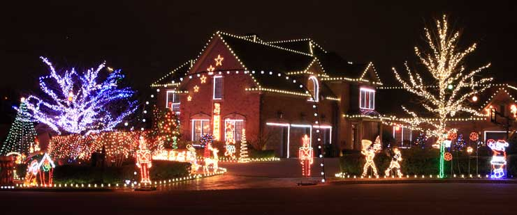 DIY Christmas Lights Planning