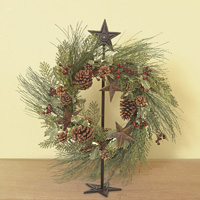 Floor Stand Wreath Hanger