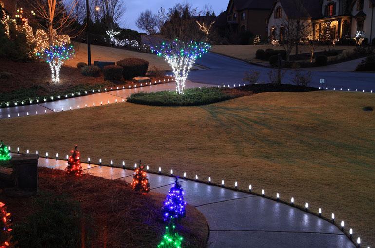 Outdoor Christmas Yard Decoration Ideas