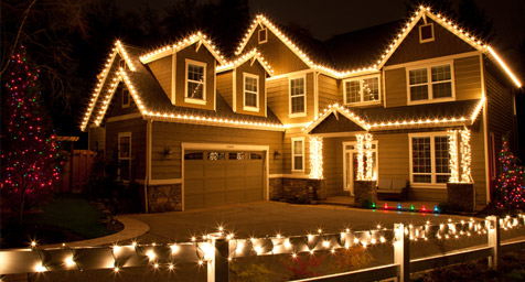 Outdoor lighting xmas ideas simple home decoration for Simple outside christmas lights ideas