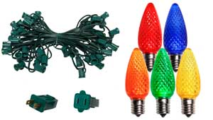 led bulbs and spools - Commercial Led Christmas Lights