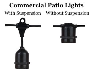 Commercial Stringers With and Without Suspensions