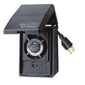 Intermatic Timer, 15 Amp Heavy Duty Grounded