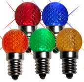 G20 Twinkle Multicolor LED Replacement Bulbs