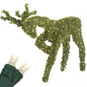 "58"" LED Head Down Reindeer Topiary"