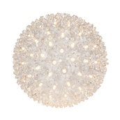"6"" Twinkle Starlight Sphere, 50 Warm White LED Lights"