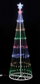 6' Multi LED Light Show Tree